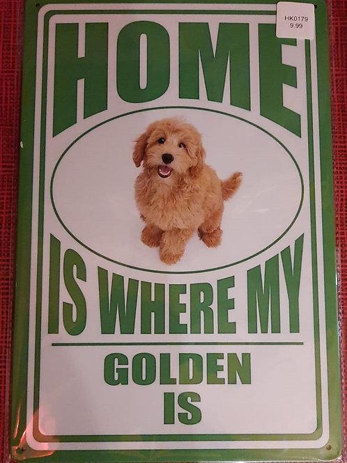 Golden Retriever Home HK0179