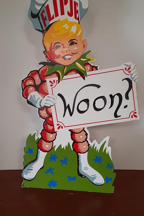 grote kartonnen Flipje Toonbank display Woon