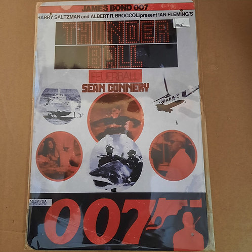 James Bond Thunderball F0017