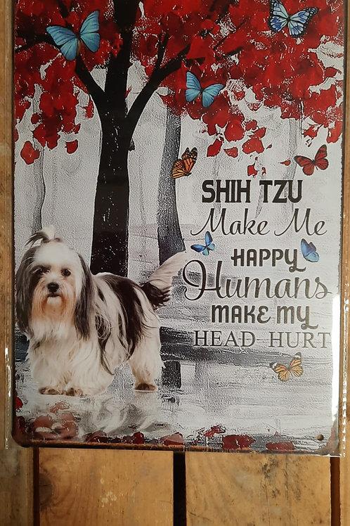 Shih Tzu Make me happy  KE028
