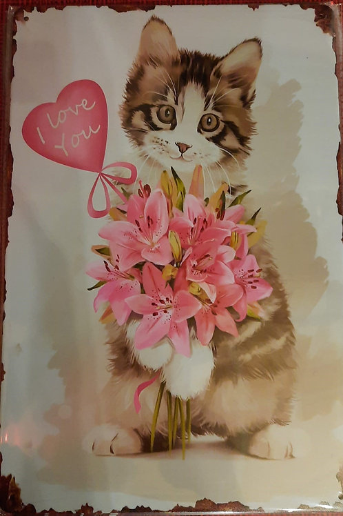 Kitten I love you WW003