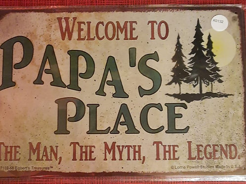 Welcome to papa's place  K0132