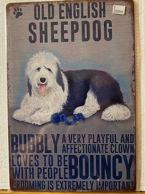Old English Sheepdog HK0016