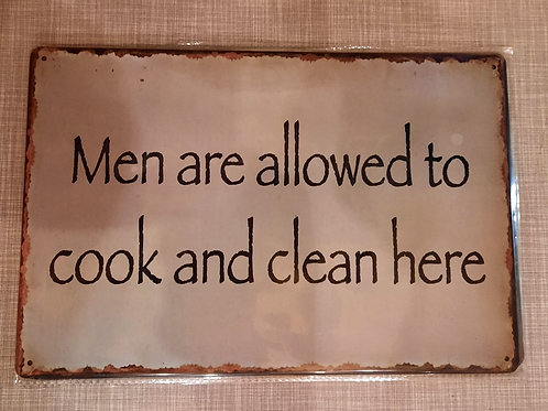 Men are allowed to cook and clean  T0071