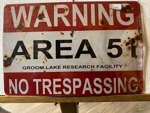 Warning Area 51 T0045