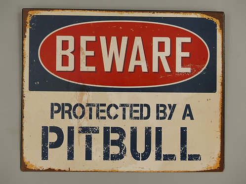 Beware Pitbull  321.A32