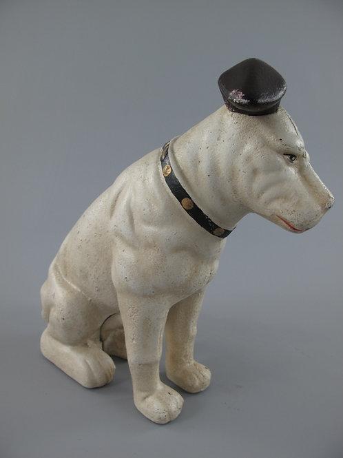 gietijzeren Hond His masters Voice