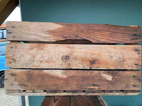 Fruitkisten / houten kratten