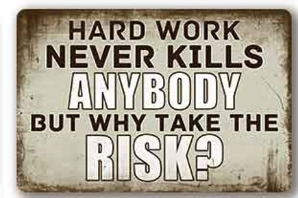 Hard work never kills  TH8836