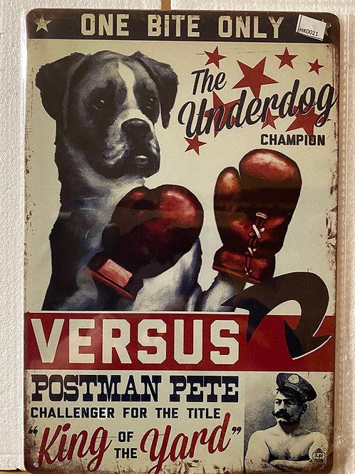 The underdog  (Boxer) HK0021