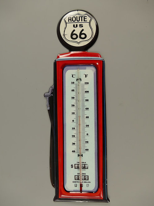 Thermometer antiek ijzer Route-66 321.Z50