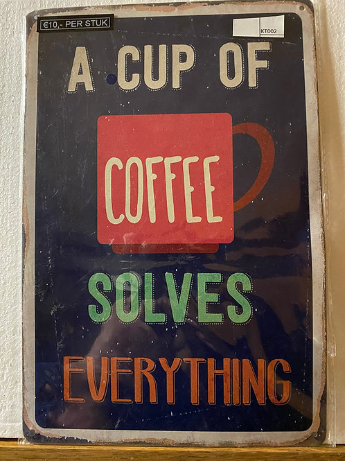 A cop of coffee solv.... KT002