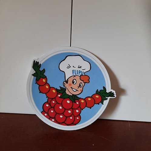 Flipje sticker doorsnee 11 cm