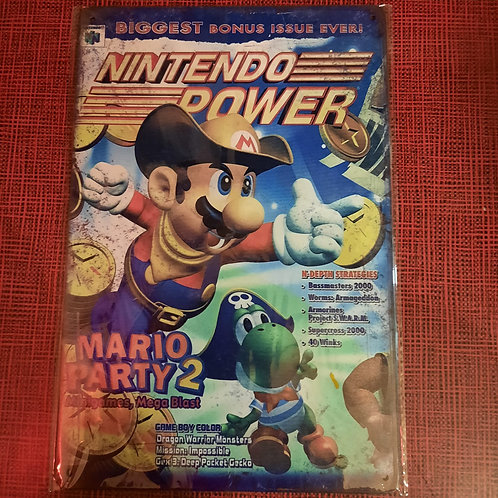 Nintendo power Mario Party2  S0118