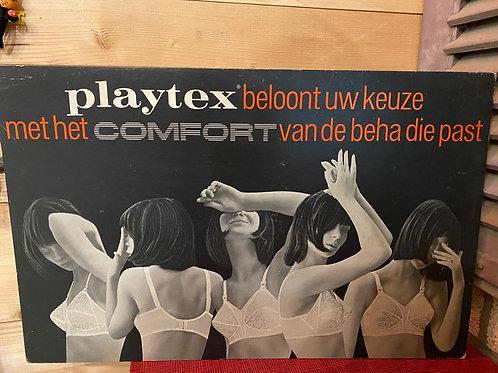 Oude kartonnen display Playtex Beha  nr 3