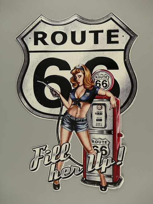 Route 66 Fill her up 321Y34