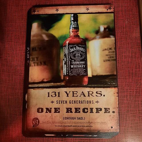 Jack Daniels 131 Years  Whiskey A0134
