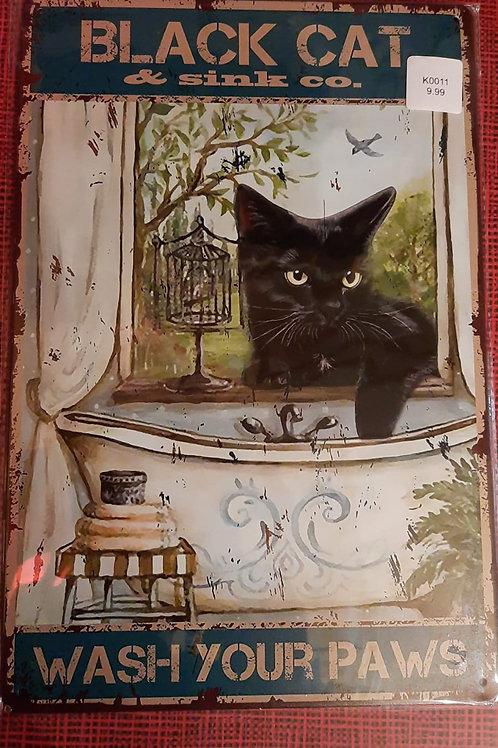 Black Cat & sink Co   HK0415