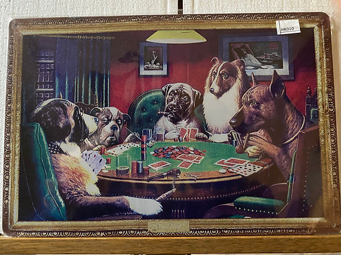 A dogs pokernight HK010