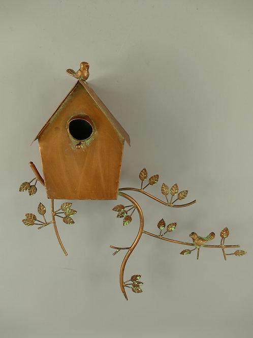 Vogelhuis koperkleur