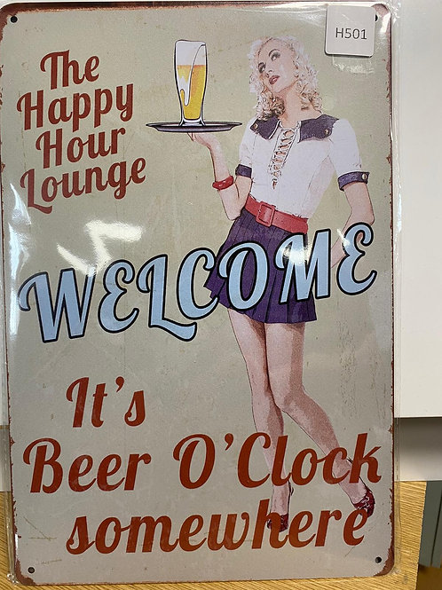 Happy Hour Lounge Welcome  H501