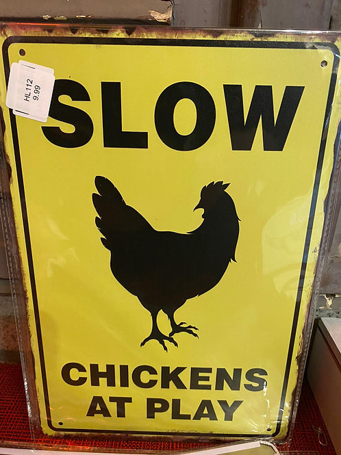 Slow Chickens   HL112