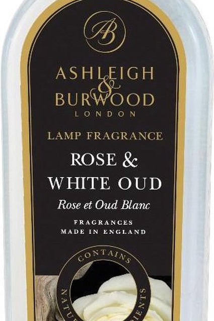 Rose and White Oud geurolie