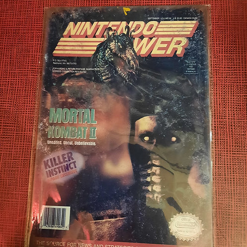 Nintendo Power Mortal Kombat II  S0114