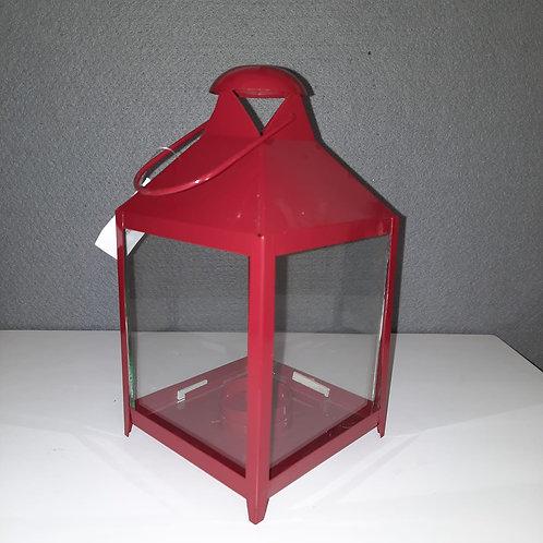 Vierkante rode  lantaarn LAR7