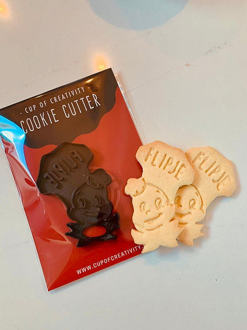 Cookie Cutter voor Flipje koekjes