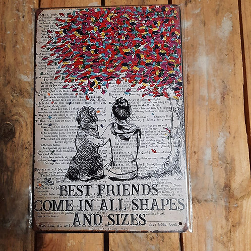 Best Friends come in all shapes  KE011
