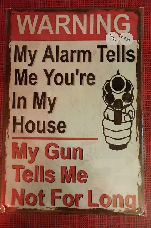 My alarm tells me  K0140