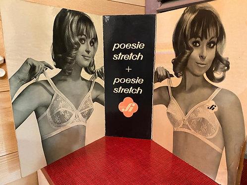 Oude Lingerie reclame Drieluik Poesie Stretch  nr 4