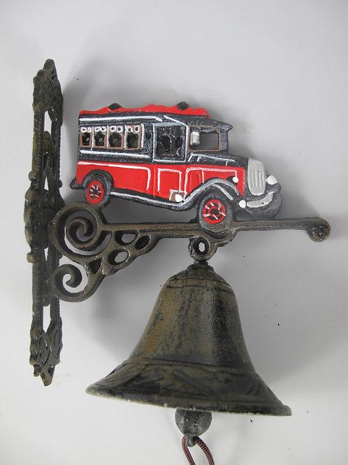 Gietijzeren bel Rode Bus