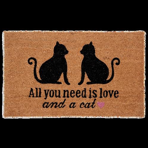 Deurmat All you need is love  MC109