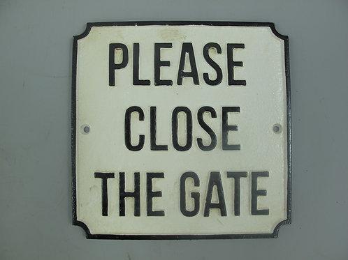 Please close the gate  102.310