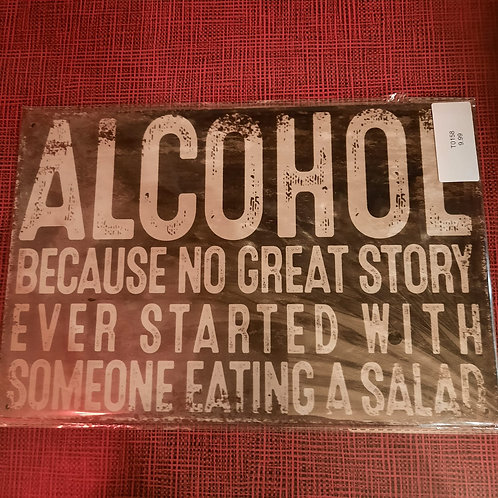 Alcohol Great Story T0158