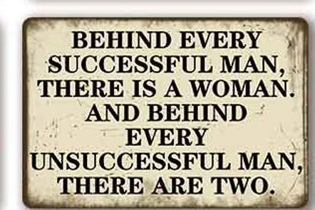 Behind every successful man  TH8829