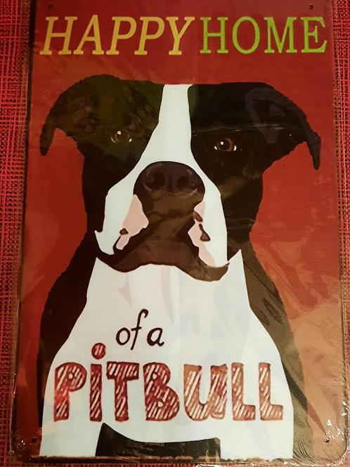 Happy Home of a pitbull   S208