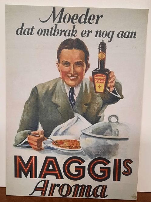 Replica reclamebord Maggi