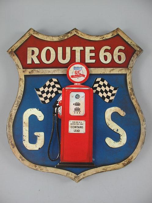 Route 66 met benzinepomp 332.025