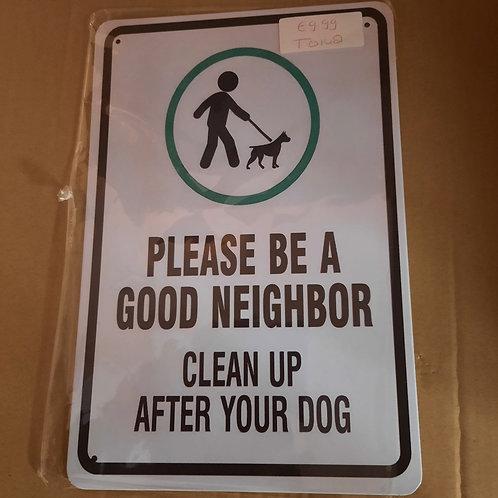 Please be a good Neighbor  T0148