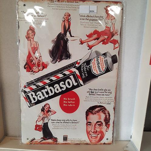 Barber Barbasol T B004