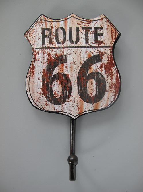 kapstokhaakje route 66  321.X10
