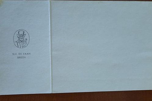 N.V. De Faam reclame folder