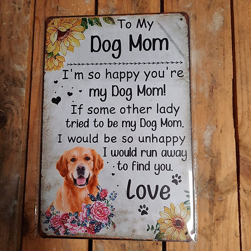 To my Dog Mom  KE010