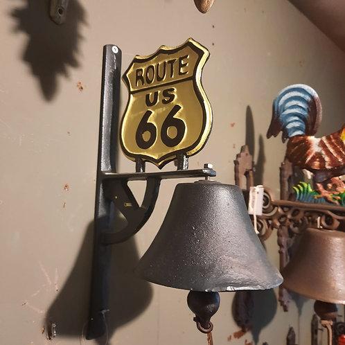 Bel gietijzer Route 66