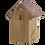 Thumbnail: Nestkast Winterkoning met koperen dak. NK06 Binnenkort leverbaar