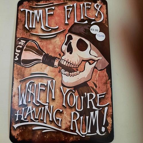 Time flies Rum T0152