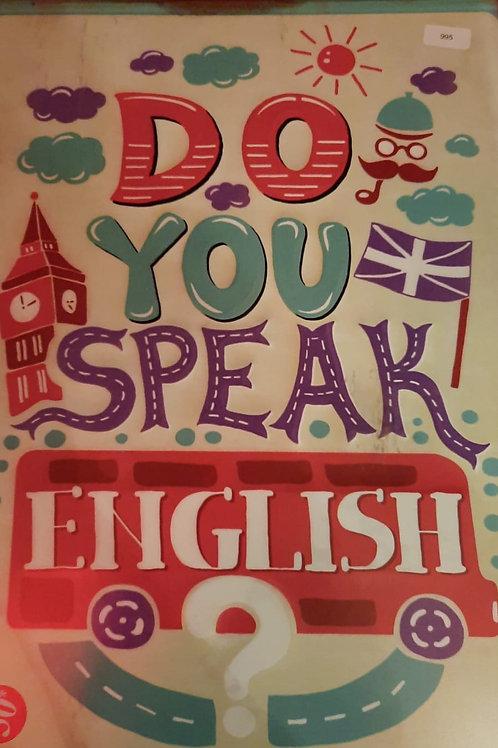 Do you speak english 995